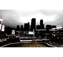 Stadium - Back Light Photographic Print