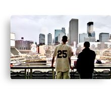 Stadium - Background Canvas Print