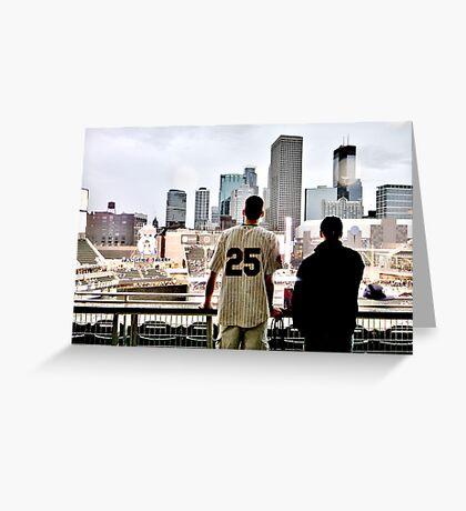 Stadium - Background Greeting Card