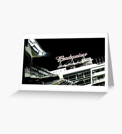 Stadium - Advertising Greeting Card