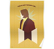 Sam Winchester Yellow Poster