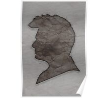 Tenth Doctor Silhouette Poster