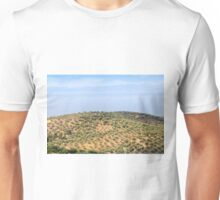 hill with olives trees Unisex T-Shirt