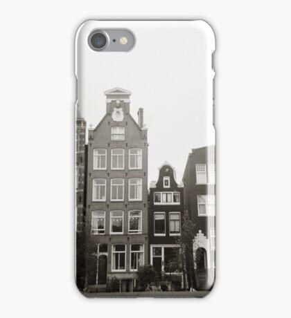 { skinny houses } iPhone Case/Skin