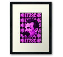 Nietzsche -  Face / Nietzsche Framed Print