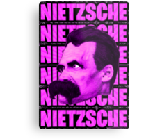 Nietzsche -  Face / Nietzsche Metal Print