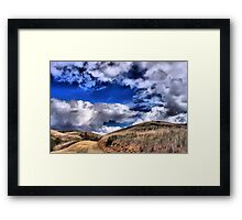 Bane Canyon-Chino Hills Framed Print