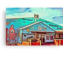 Fisherman's Co-Op, Coffs Harbour Canvas Print