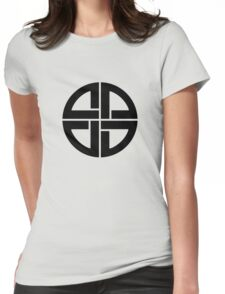Celtic Shield knot, Amulet, Germanic, Protection, Celtic, Womens Fitted T-Shirt