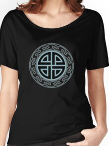 Celtic Shield Knot, Protection, Four Corner, Norse, Viking Women's Relaxed Fit T-Shirt