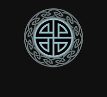 Celtic Shield Knot, Protection, Four Corner, Norse, Viking Unisex T-Shirt
