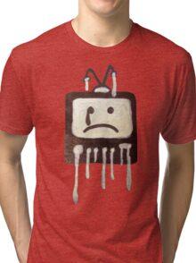 Crying T.V. Tri-blend T-Shirt