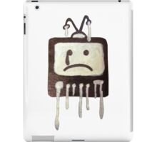 Crying T.V. iPad Case/Skin