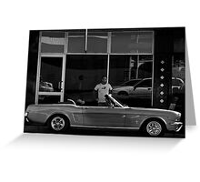 Mustang Greeting Card