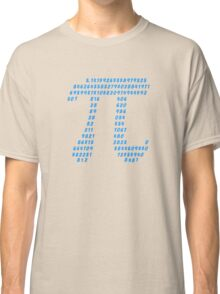 Pi π Science Mathematics Math Irrational Number Sequence Classic T-Shirt