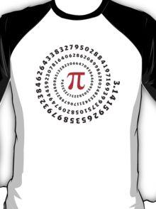Pi π Galaxy Science Mathematics Math Irrational Number Sequence T-Shirt
