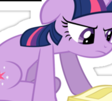 Study Hard (Twilight) Sticker