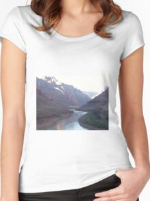 GRAND CANYON USA 2007 Women's Fitted Scoop T-Shirt