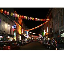 Chinatown in Singapore Photographic Print