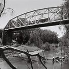 River & Bridge by MichaelCouacaud
