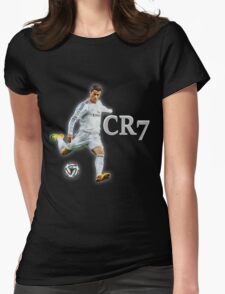 Ronaldo Real Madrid Womens Fitted T-Shirt