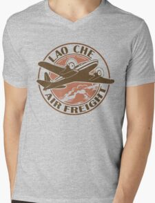 Lao Che Air Freight Mens V-Neck T-Shirt