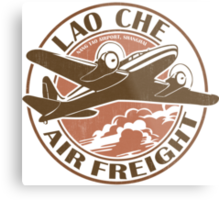 Lao Che Air Freight Metal Print