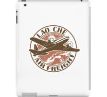 Lao Che Air Freight iPad Case/Skin