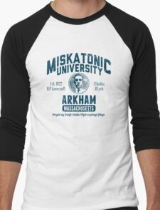 Miskatonic University Arkham Men's Baseball ¾ T-Shirt