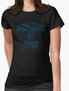 Miskatonic University Arkham Womens Fitted T-Shirt