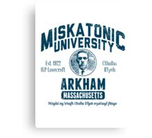 Miskatonic University Arkham Canvas Print