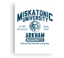 Miskatonic University Arkham Canvas Print
