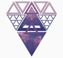 Triangle Diamond Galaxy Kids Clothes