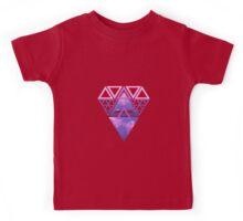 Triangle Diamond Galaxy Kids Tee