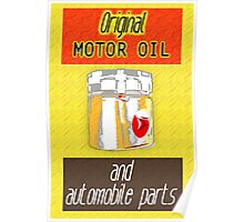 Auto Parts Sign Poster
