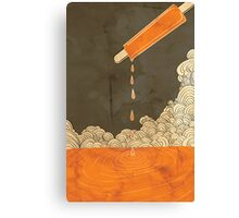 Orange Dreamscicle Canvas Print