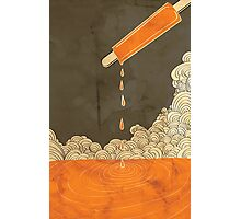 Orange Dreamscicle Photographic Print