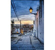 The Blue Hour - Granada Photographic Print
