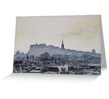 Edinburgh 1 Greeting Card