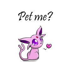 Pet Espeon, right now! by Runehise