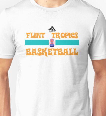 Flint Tropics Basketball Semi Pro Unisex T-Shirt