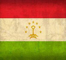 Tajikistan Flag by flaglover