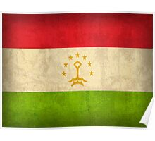 Tajikistan Flag Poster