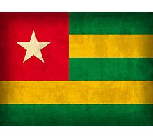 Togo Flag Photographic Print