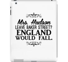 England Would Fall iPad Case/Skin