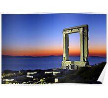 The Portara of Naxos Poster