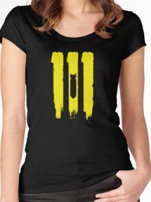 vault 111 Women's Fitted Scoop T-Shirt