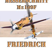 Me109F Friedrich by Mil Merchant