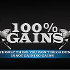100% GAINS  by Wonder Arts