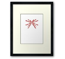 Christmas with me? Framed Print